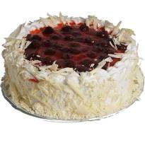 Cherry Cream Gateaux Eggless Cake