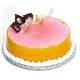 view Lychee Mango Eggless Cake