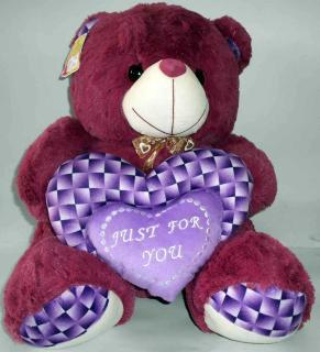 buy just for you teddy(purple)