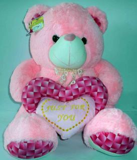 buy just for you teddy(light pink)
