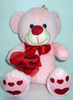 buy Made for each other teddy bear(light pink)