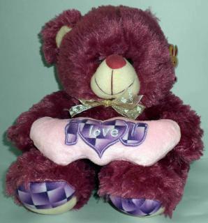 buy I love you bear(purple)