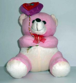 buy frizzy bear(dark pink)
