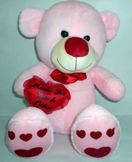 buy Mr.pluffy light pink teddy