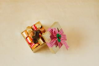 buy Designer Christmas box with Truffles