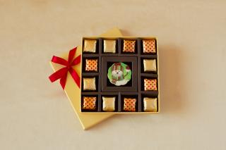 buy Christmas Chocolate  Festive Message