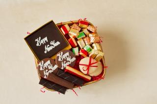 buy New Year Indulgence Chocolate  Hamper