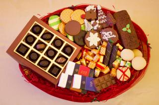 buy Classic and Artisanal Chocolate Christmas Hamper
