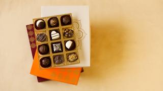 buy Luxury Chocolate Truffles Christmas Joy