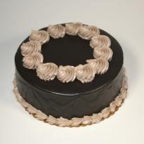 Chocolate Profitrol cake