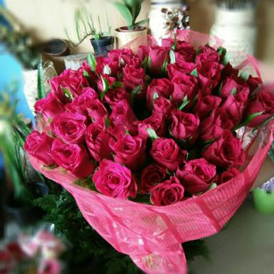 Buy Eternal Love  A bunch of Pink Roses