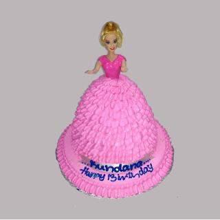buy Doll Eggless Cake