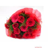 Perfect Love Red Rose Bunch