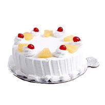 Pineapple Eggless Cake