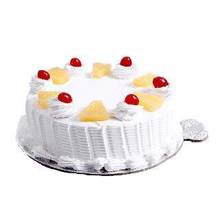 buy Pineapple Eggless Cake