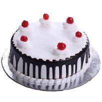 Choco Vanilla Eggless Cake