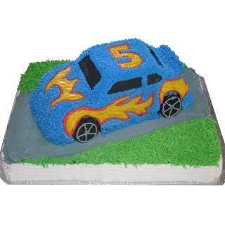 buy Car Shape Eggless Cake