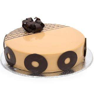 buy Hazelnut Cappuchino Eggless Cake