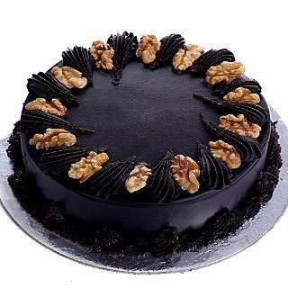 buy Choco Walnut Eggless Cake