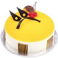 Mango Maharaja Eggless Cake