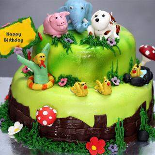 buy Jungle Eggless Cake
