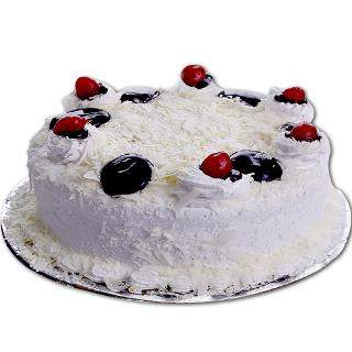 buy White Forest Eggless Cake