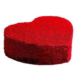 buy Red Velvet Heart Cake