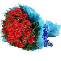 Blooming Love Red Roses Bouquet