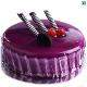 Buy Black Currant Eggless Cake