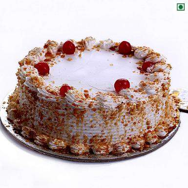 Buy Butter Scotch Eggless Cake