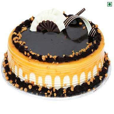 Buy Carmell Chocolate Eggless Cake