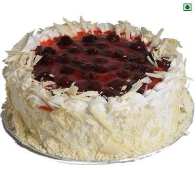 buy Cherry Cream Gateaux Eggless Cake