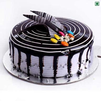 buy Choco Vanilla Eggless Cake