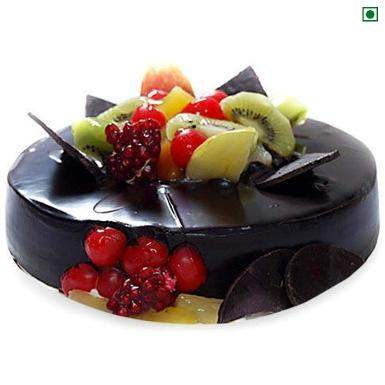 Buy Chocolate Fruits Eggless Cake