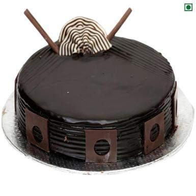 Buy Dark Royal Eggless Cake