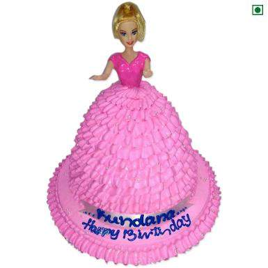 buy Doll Eggless Cake