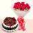 buy Duet Swirl Chocolate & Fruit Eggless Cake