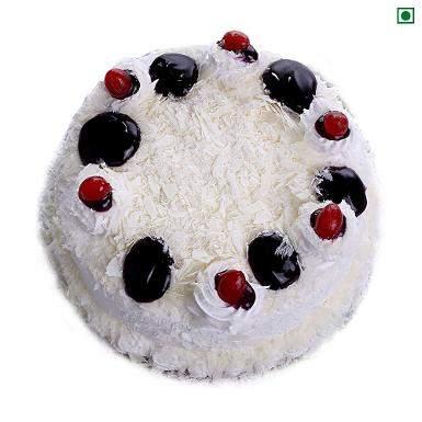 buy White Forest Eggless Cake