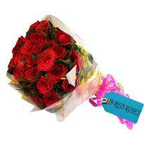 Big Love Red Roses Bunch