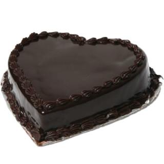 buy Chocolate Heart Shape Cake