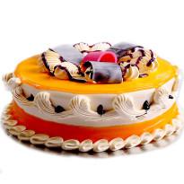 Tropical Mango Delusion Cake