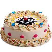 Vanilla Extravagant Cake