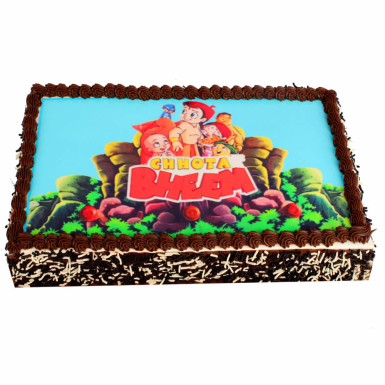 Buy Chocolaty Photo Cake