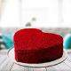 Buy Red Velvet Heart Cake