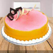 Lychee Mango Cake