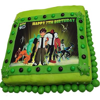 Buy Ben 10 Photo Cake