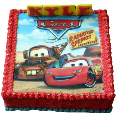 Buy Cars photo cake
