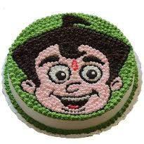 Chota Bheem Face Cake