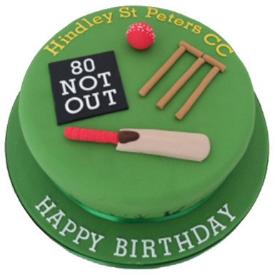 Cricket Fondant Cake Winniin