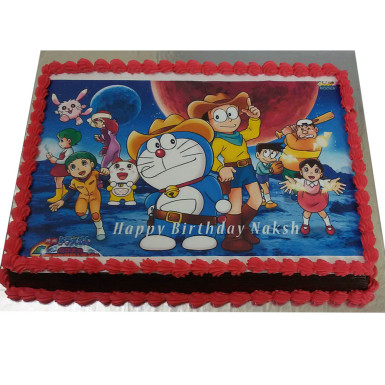 Buy Doraemon Photo Cake